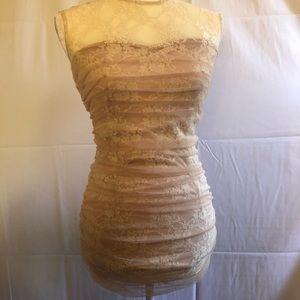 En Creme beige/cream dress